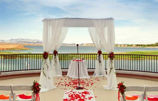 Named The Best Ceremony Location In Las Vegas By Bride Magazine 2011 Westin Lake Resort Spa Is Perfect Place To Say I Do